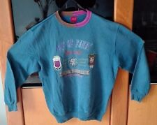 Felpa BEST COMPANY jacket Italy Trikot Vintage Sweatshirt Paninaro '80s size XL
