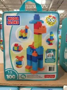 Mega Bloks Building Bag by Fisher Price, 100 Pieces