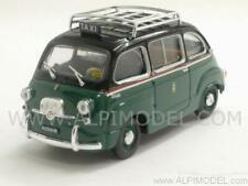 Fiat 600 Multipla D Taxi di Milano 1960 1:43 BRUMM R334