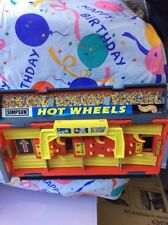 HOT WHEELS LAUNCH PIT STOP GRANDSTAND 1997 MATTEL CARRY CASE BS1