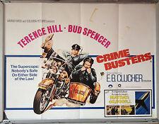 Cinema Poster: CRIME BUSTERS 1977 (Quad) Terence Hill Bud Spencer David Huddlest