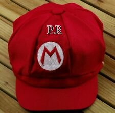 Fashion  Adult  Cosplay Hat Cap Baseball Cosplay red