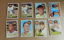 1969 TOPPS 8 CARD LOT SET FILLERS