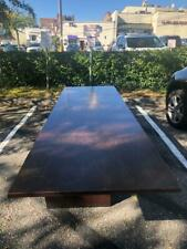 Holly Hunt Table Wood Dinning Table Or Conference Room Table
