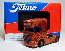"""Tekno 1/50: 65616 Scania R560 Topline 4x2 V8 Solo-Zugmaschine """"Roland Graf"""""""