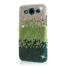 GLITZ Case + Screen Protector for Samsung Galaxy Mega 5.8 - Emerald Waterfall