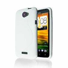 S-LINE SOFT TRANSPARENT TRANSLUCENT CLEAR TPU GEL BACK CASE COVER FOR HTC ONE X