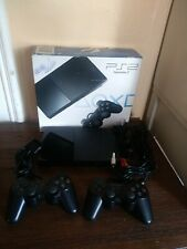 SONY PLAYSTATION 2  OUTSTANDING SHAPE. IN BOX WITH 2 CONTROLLERS NICE LOOK !!!!