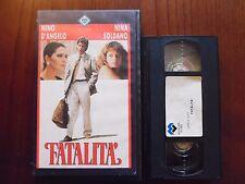 Fatalità (Nini Grassia, Nino D'Angelo, Maridea Santovito)  VHS Minerva rarissima