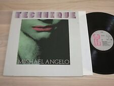 Technique LP-Michael Angelo/1983 ERC Italo discoteca Press in MINT UNPLAYED