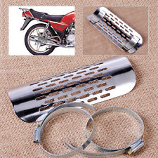 Chrome Exhaust Muffler Pipe Heat Shield Cover Guard Fit For Harley Cruiser Motor