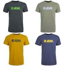 Camisetas de hombre de manga corta color principal azul 100% algodón