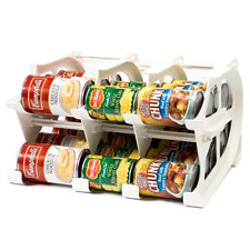 Mini Can Tracker Food Storage Canned Organizer Rotate Dispenser Up to 30 Cans