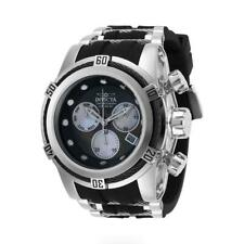 Invicta Bolt Zeus 28154 Men's Mother of Pearl Chronograph Black Silicone Watch