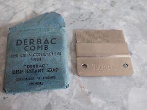 Vintage Durbac  Fine Tooth Comb Head Lice