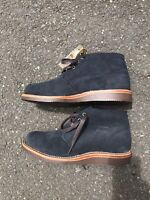 """Chippewa Milford Casual Chukka Boots Men Suede 5"""" Lace Up Navy Size 8 (180 MSRP)"""