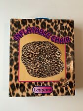 "Inflatable Chair(repair Kit Include) Leopard Color Size 36"" X 36"" New/sealed"