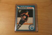 Wayne Gretzky EDMONTON Oilers Rookie card. Please read Description.