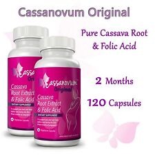 Cassava Fertility Supplement - Twins - Vitamins - Cassanovum Original - 2 MONTHS