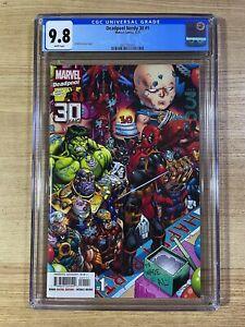 Deadpool Nerdy 30 #1 (2021 Marvel Comics) 1st Print CGC 9.8