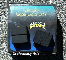 Hubbly Bubbly Charcoal 1 Box = 27 Pieces Large Cubes for Incense Resin or Hookah