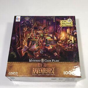 Ravenhearst  KEY To RAVENHEARST Mystery Case Files 1000 Jigsaw Puzzle made USA