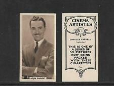 Type cards:  B.A.T. Cinema Artistes ( brown, set 2 with oval ). VG condition.