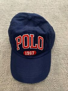NEW Polo Ralph Lauren Blue Yellow Gray Tan Pony Hat Cotton Baseball Hat Unisex