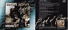 MAXI CD BON JOVI BED OF ROSES 4 TITRES DE 1993 TRES BON ETAT