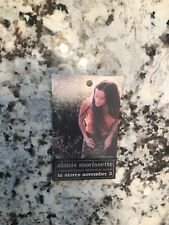 Alanis Morissette promo laminate Supposed Former Infatuation Junkie 1998 New