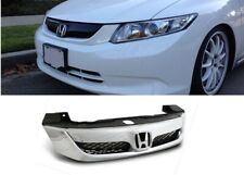 2012 HONDA CIVIC 4DR SEDAN MODULO STYLE CHROME ABS FRONT HOOD GRILL GRILLE