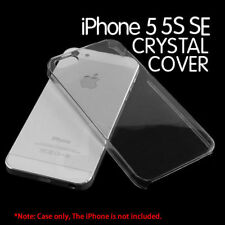 For iPhone 5 5s SE Glossy Clear Transparent Ultra Thin Hard PC Case Cover SKIN