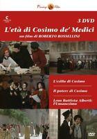 3 Dvd Box Cofanetto L'ETA' DI COSIMO DE' MEDICI di Roberto Rossellini nuovo