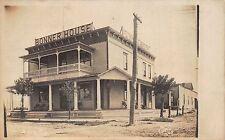 Real Photo Postcard Bonner House Hotel in Avis, Pennsylvania~111364