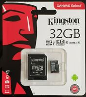 Kingston 32GB Micro SD SDHC Class 10 Card for Nextbase Dash Cam Camera 80MB/s