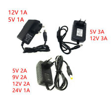 DC5V 9V 12V 24V 1A 2A 3A Adaptor Swiching Power Supply Charger  For Led Strip