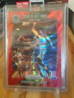 2015-16 PANIN PRIZM STEPHEN CURRY ALL NBA FIRST TEAM RED PRIZM /350 WARRIORS !