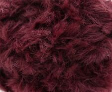 Sirdar Alpine Luxe Fur Effect Yarn Shade 0405 Oxblood