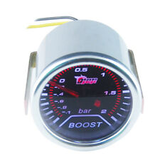 """2"""" 52mm KFZ Auto Ladedruck Anzeige LED Turbodruck Instrument Zusatz Instrumente"""
