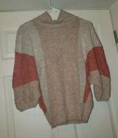 SML Sport Womens Vintage Sweater Sz Medium Silk Angora Wool Blend