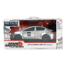 Jada Toys Metals Die Cast JDM Tuners 2016 Subaru WRX STI Silver 1:32