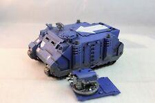 Warhammer Space Marine Ultramarines Rhino Razorback Pro Painted