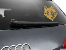 Wolf Werewolf Car Sticker Styling Window Decal, Gold