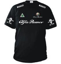T-SHIRT ALFA ROMEO maglia polo felpa maglietta rossi fiat bmw ferrari yamaha KTM