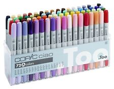 Copic Ciao - 72 A Manga Marker Set TWIN TIPPED rechargeables avec COPIC divers encres