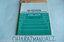 1989 TOYOTA Celica AT180 ST18 Repair Manual for Collission Damage