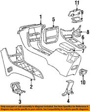 Chevrolet GM OEM 91-94 Cavalier Floor Console-Console 22566172
