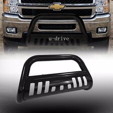 New Bull Bar For 11-16 Chevy Silverado / Gmc Sierra 2500/3500 HD - Black