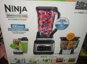 Ninja BN801 - Professional Plus Kitchen System with Auto-iQ - Black/Stainless