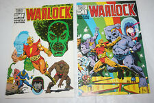 MARVEL COMICS WARLOCK #1 #2 SPECIAL EDITION 1982 JIM STARLIN